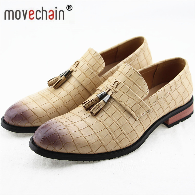 Shoes Movechain Mens Fashion Luxury Brand Suede Leather Loafers Mens Casual Rhinestone Spider Moccasins Shoes Man Party Driving Flats Men's Shoes