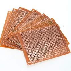 10 шт. DIY Прототип бумага PCB Универсальный Эксперимент Матрица платы 5x7 см