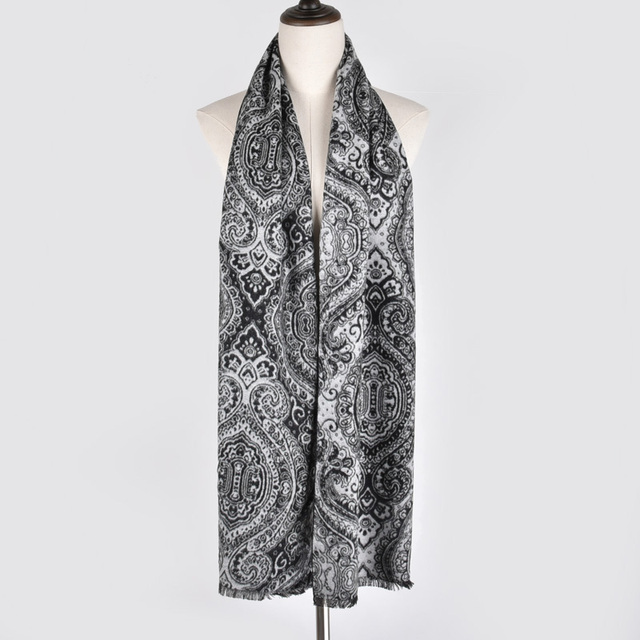 Floral Patterned Man's Scarve