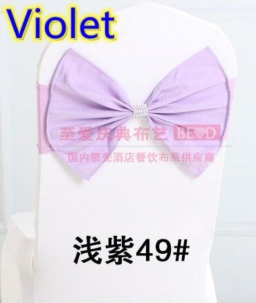 Color violeta faja cinturón de boda mariposa con la hebilla ...