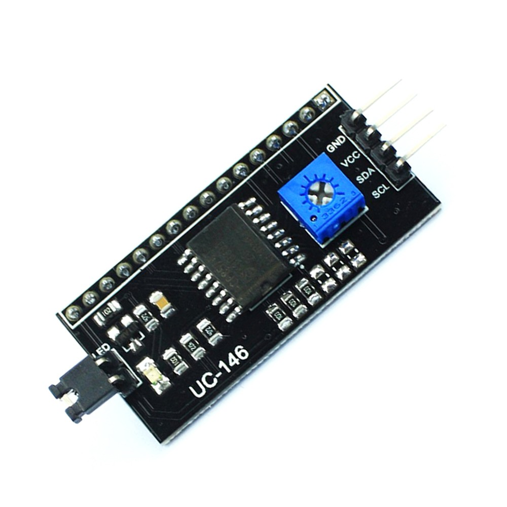 Free Shipping 50PCS/Lot Serial Board Module Port IIC/I2C/TWI/SPI Interface Module For 1602 LCD Display