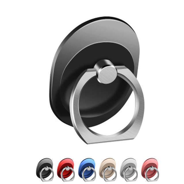 Oval Cell Phone Ring Holder 360 Degree Rotation Ring Stand Kickstand Replacement for iPhone
