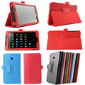 "New fashion folio pu leather case suporte capa para asus fonepad 7 fe170cg 7 ""tablet"