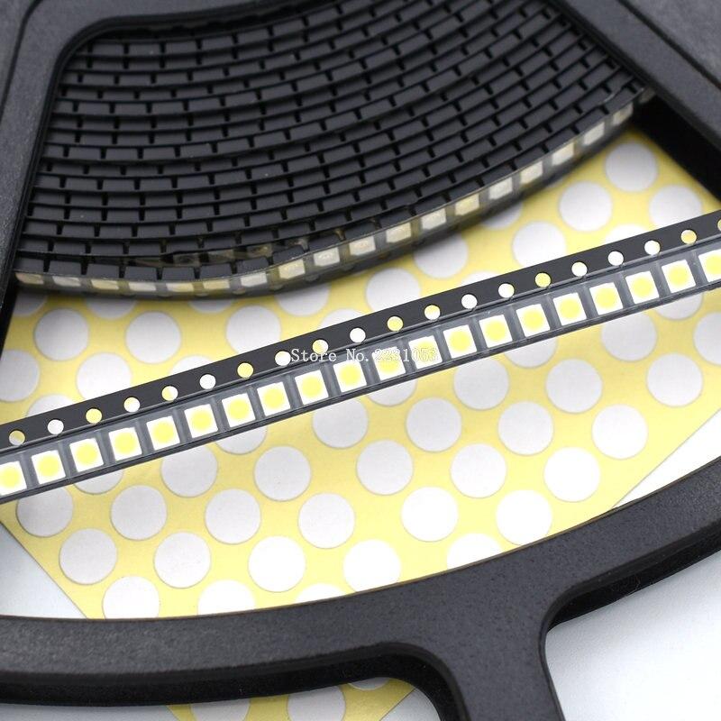 200PCS/LOT 3528 White Super Bright Light Diode 1210 SMD LED Beads White Light Bead 3.5*2.8*1.9mm