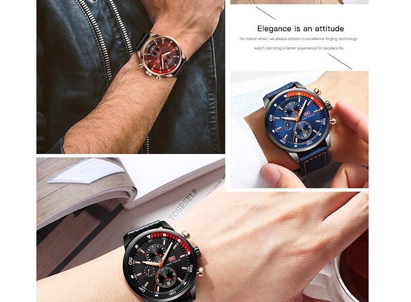 Watches Men 2019 Luxury Brand MINI FOCUS Quartz Fashion Leather Watch Man Chronograph Male Wristwatch Men relogio masculino 2018 (6)