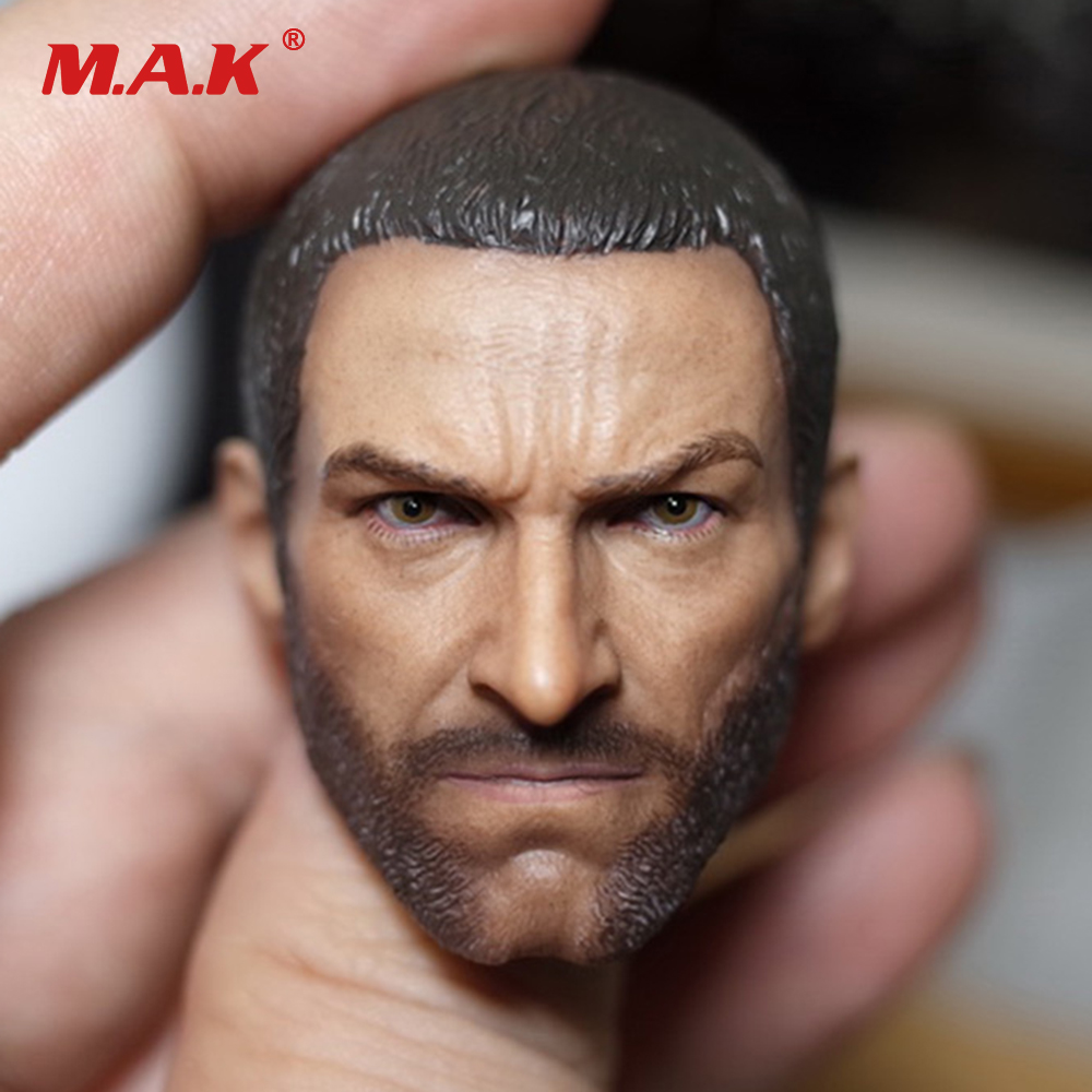 1/6 Logan 3 Wolverine Clone Head Sculpt Short Hair Version For 12 inches Action Figure Accessory 1 6 bloodstain normal wolverine claw hands type model for 12 inches male action figure