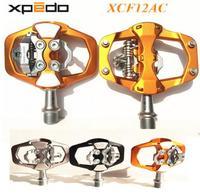 Xpedo xcf12ac siêu nhẹ 295 gam mountain bike pedal mtb khóa tự động bàn đạp xe đạp 3 mang cường độ cao xe đạp đường khóa bàn đạp