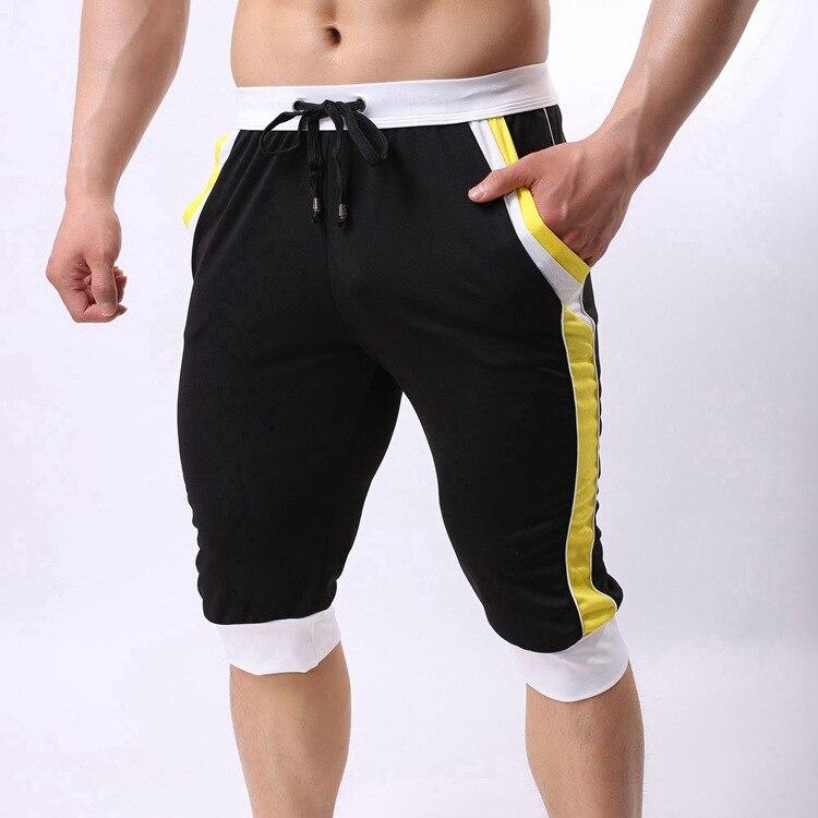 XXL  Brand Men Fashion Shorts Cotton Beach Boxer Sexy Wear Baseball Capri Designer Shorts New Trunks FX1023