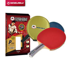 2015 Winmax Racquete Sport Top Quality 5 Stars Table Tennis Bat Pingpong Rackets With a Free Bag
