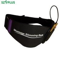 EMS trainer belt simulator back waist muscle simulator electric slimming belt back massage belt acupuncture waist trainer