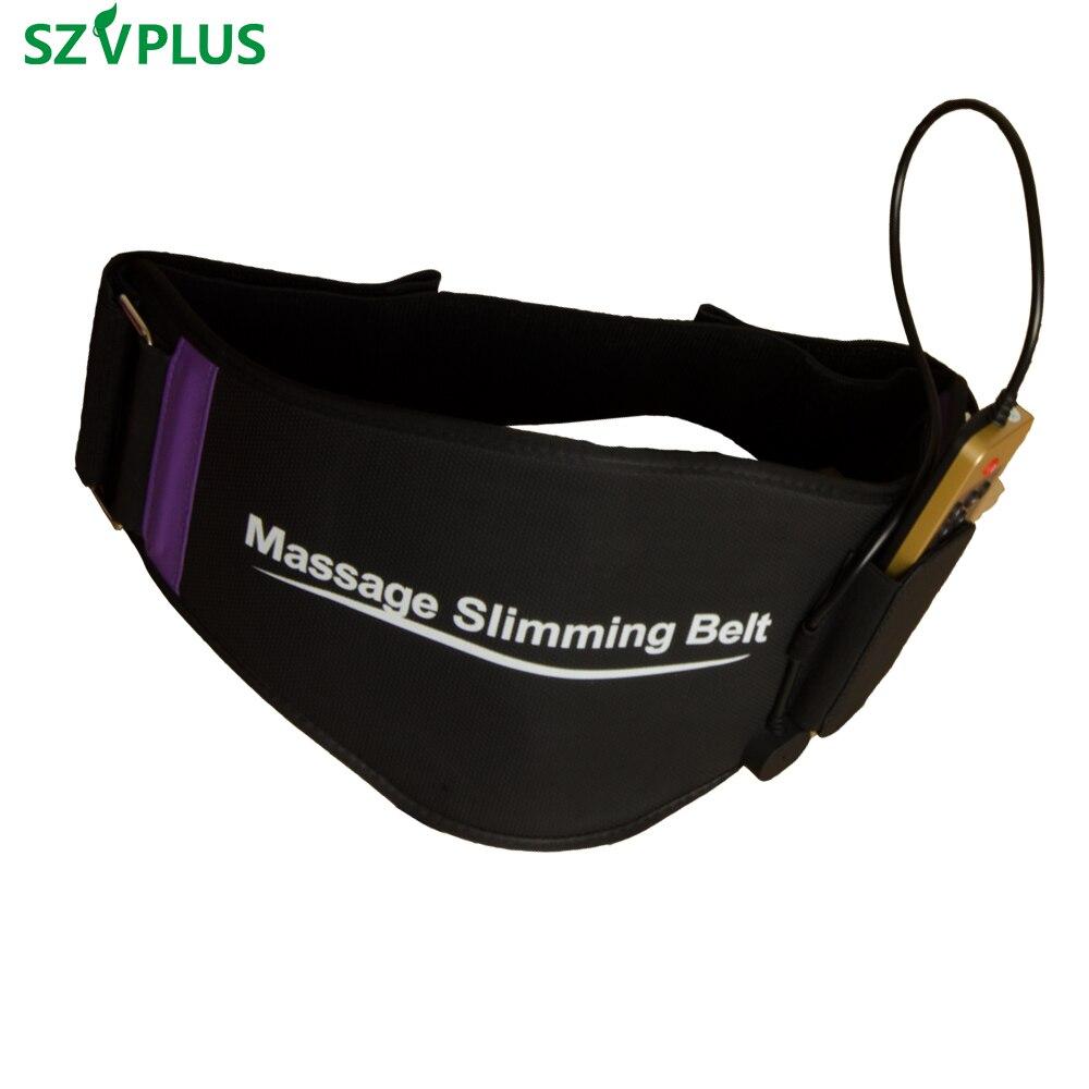 EMS entrenador cinturón simulador cintura trasera músculo simulador eléctrico adelgazamiento cinturón espalda masaje cinturón acupuntura cintura entrenador-in Masaje y relajación from Belleza y salud    1