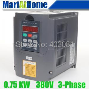 Free shipping 0.75kw 1HP 380V 4A Usual VFD Inverter Variable Frequency Drive Inverter for Spindle Motor #SM657 @CF 220v 5 5kw vfd variable frequency drive vfd inverter 3hp input 3hp output cnc spindle motor driver spindle motor speed control