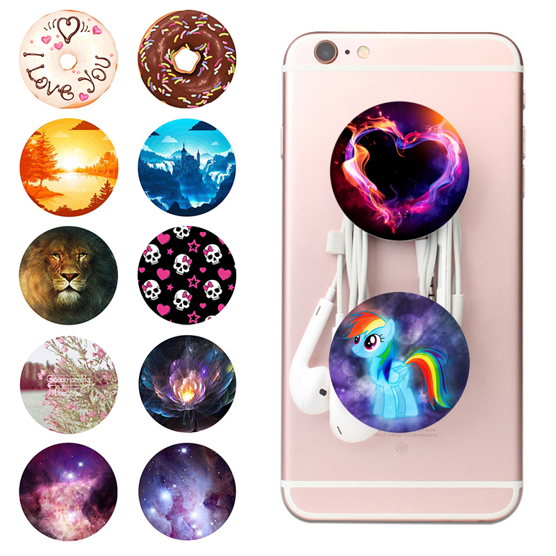 Popsoket Mobile Phone Holder Pops Expanding Cell Popsocet Finger Ring Pipsocket Desk Stand Holder Pocket Socket For Smrtphones