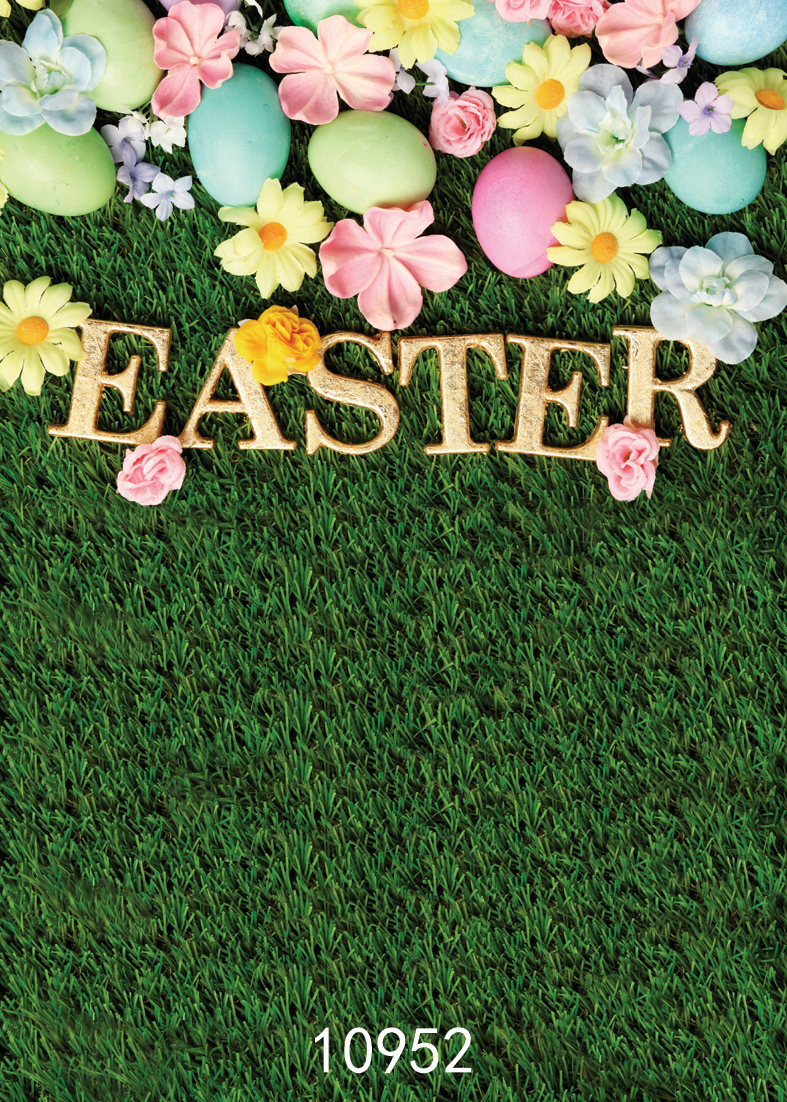 SJOLOON Easter photography background colorized eggs flowers photography backdrops grass baby photo backdrops for photo studio easter day eggs in straw photography backdrops dry branches fotografia photo background for photo studio photography background