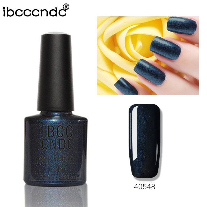 Venta caliente IBCCCNDC Nail Gel Polish Salon Nail Art Barniz Soak Off Lámpara UV LED Curado Gel Laca 79 Colores 40548 Larga Duración