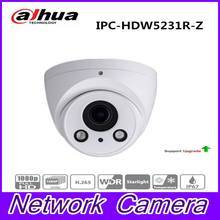 Starlight 2.7mm ~12mm motorized lens 2MP WDR IR Eyeball Network Camera IPC-HDW5231R-Z ,free shipping