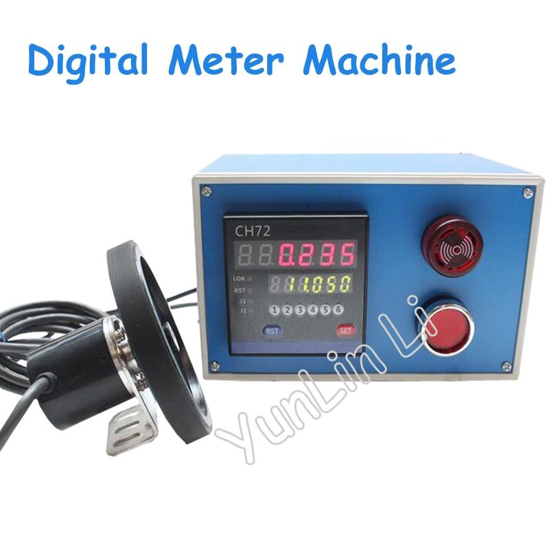 цена на Electronic Digital Meter Machine Meter Electronic Encoder Wheel Roll to Measure Length Meter Recorder CH72