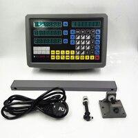 High Accuracy 3 Axis Digital Readout DRO Display 3pcs CNC Linear Scale Linear Sensor 50/100/150/200/250/300/350/400/4501000mm