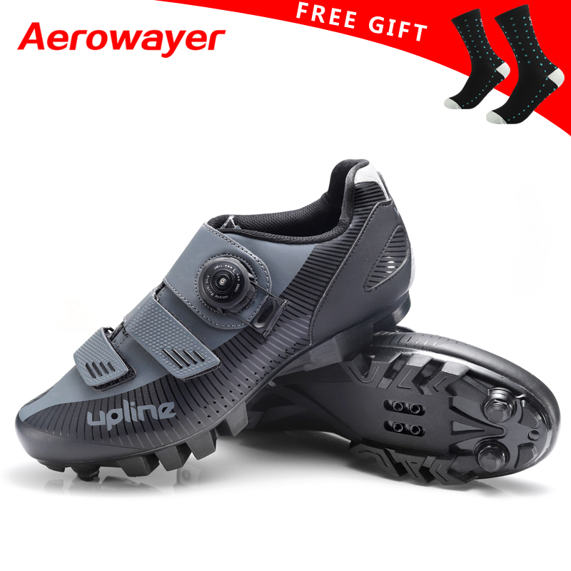 2019 new upline cycling shoes mtb winter mountain bike shoes men racing bicycle sneakers professional self