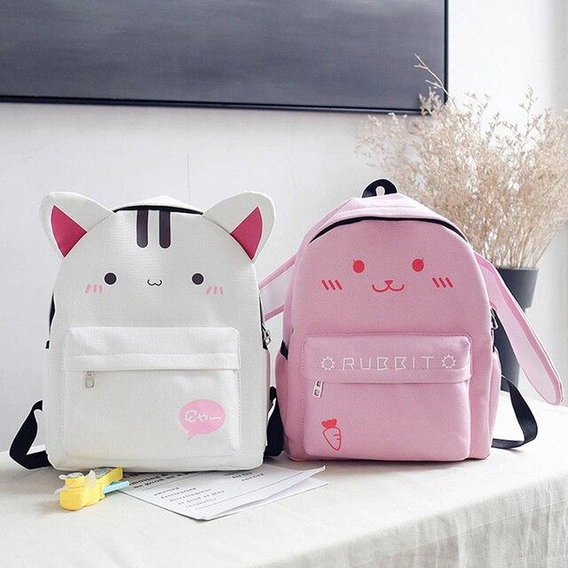 Kawaii Ears Bunny Backpack