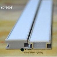 Precio 10 30 unids lote 200cm de perfil de aluminio para led tira de incluidas Canal