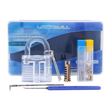 Locksmith Practice Lock Detachable Padlock DIY Assembly Family Challenge Unlimited Possibilities