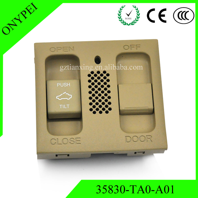 35830 TA0 A01 OEM Sunroof Map Light Switch For Honda
