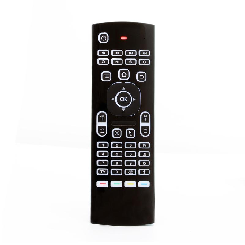 MX3-L Backlight Remote Control 2.4G RF Wireless Air Mouse Keyboard 6-Axis Controller Voice Remote for KM8 TV Box Projector картридж sharp mx b20gt1 для mx b200 201 черный