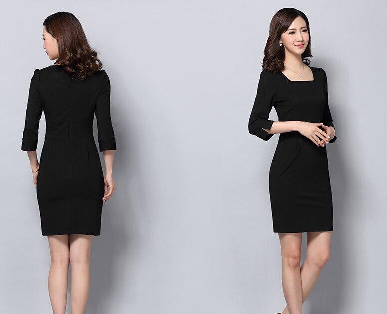 Vestiti Da Ufficio : Più il formato xl rosso outfit vestiti delle signore vestito per