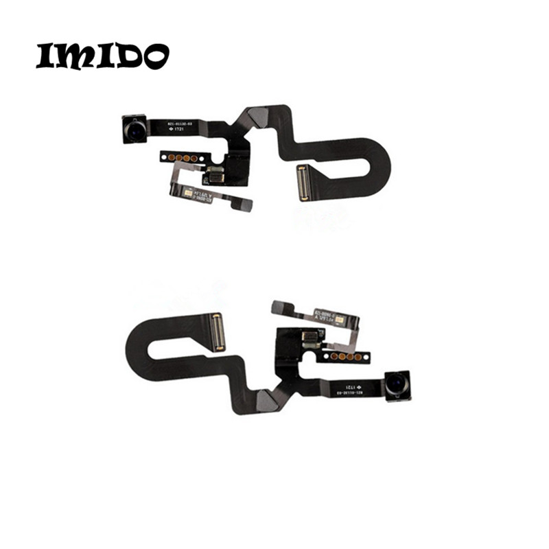 5 X IMIDO New Small Front Camera For iPhone 8 plus Light Proximity Sensor Flex Cable Facing Module Replacement Parts