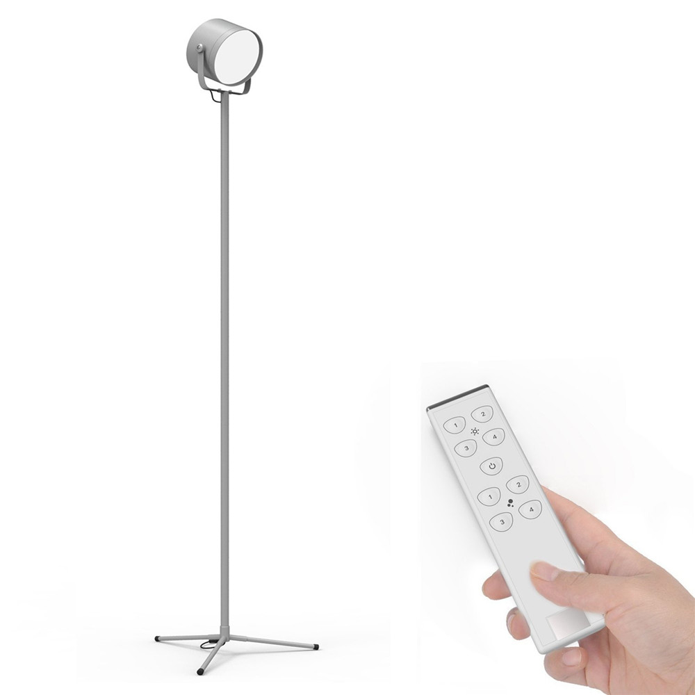 YOUKOYI F8S LED Floor Lamp 57.6 Torchier Modern Floor Lamp with Remote Control for Living Reading (Dimmable,3000k-6000K) SilverYOUKOYI F8S LED Floor Lamp 57.6 Torchier Modern Floor Lamp with Remote Control for Living Reading (Dimmable,3000k-6000K) Silver