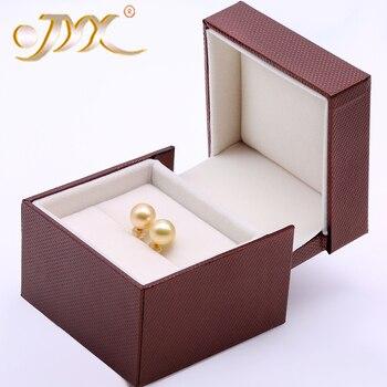 JYX 18 karat Gold Stud Ohrringe Schmuck Einfache & Klassische 10,5mm Goldene Südsee Perle Ohrringe Jewelrypalace in 18 karat Gelb Gold