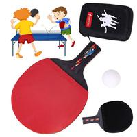 REGAIL 1 Set Long Handle Shake Hand Grip Table Tennis Racket Ping Pong Paddle Pimples In