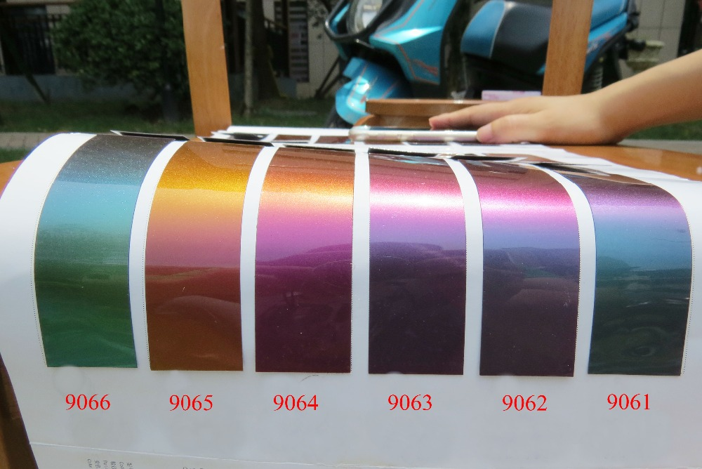 Chameleon Paint Colors