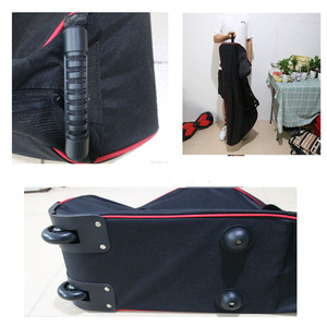 Image 2 - Large Foldable Scooter Carry Bag for Xiaomi M365 Foldable Electric Scooter Transport Roller Bag with Wheels Scooter Bag