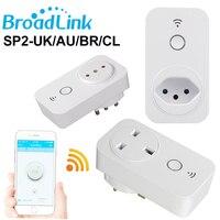 Broadlink WiFi Socket SP2 UK AU BR CL Std Wireless Wifi Socket Brazil Chile Plug Outlet