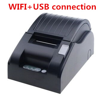 цены wholesale 58mm WIFI printer High quality 58mm receipt bill Small ticket POS printer printing speed Fast