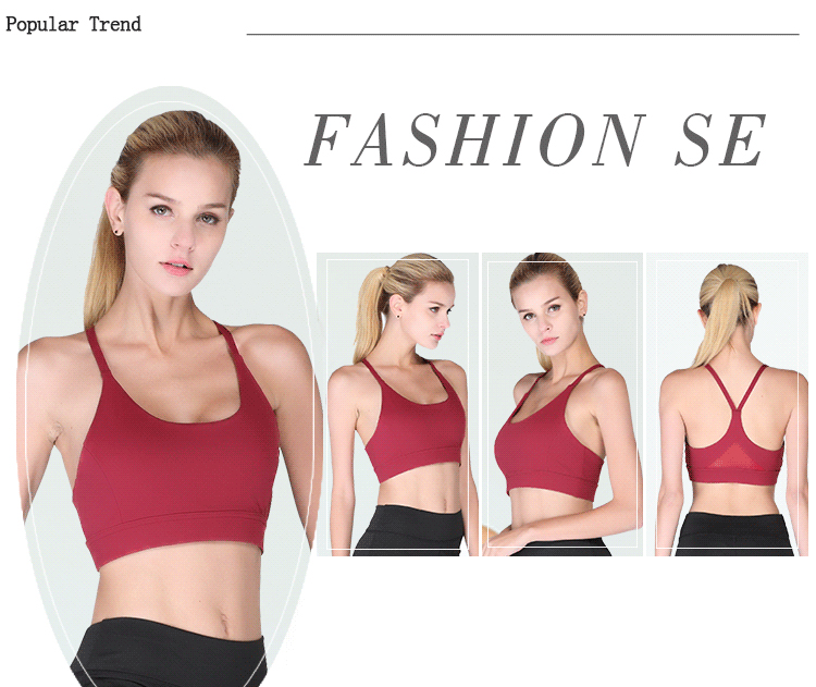 a556d1c661329 Item Name   Selena Fanny Mesh Sexy Sports Bras Padded Women High Impact  Running Black Crop Top Tank Yoga Bra White Sport Wear Plus Size XL