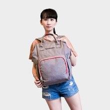 Lekebaby Diaper Bag Backpack Baby bag Built-in Steel Ring Support Tote Bag maternity bag