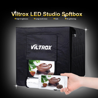 Viltrox 60cm/40cm Folding Photography Studio Softbox LED Light Soft Box Tent Lightbox Background for DSLR Camera Phone Photo