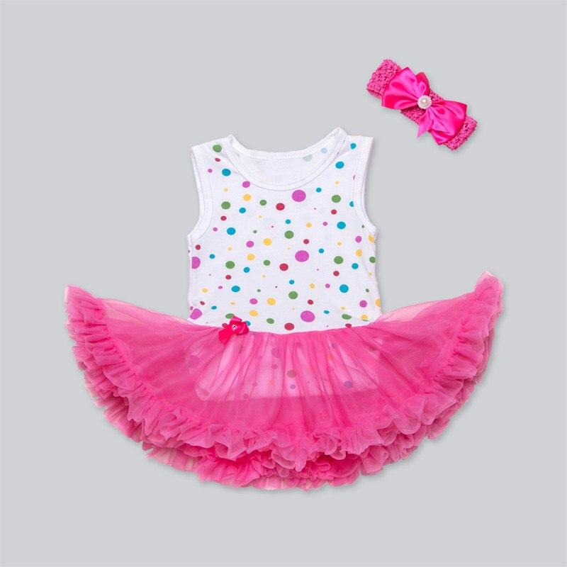 Prix en gros 22 Pouce Bébé Poupée Vêtements 4 Style Options princesse Robe Pour 55 CM Reborn Bebe Poupée Accessoire Bébés Meilleur cadeau
