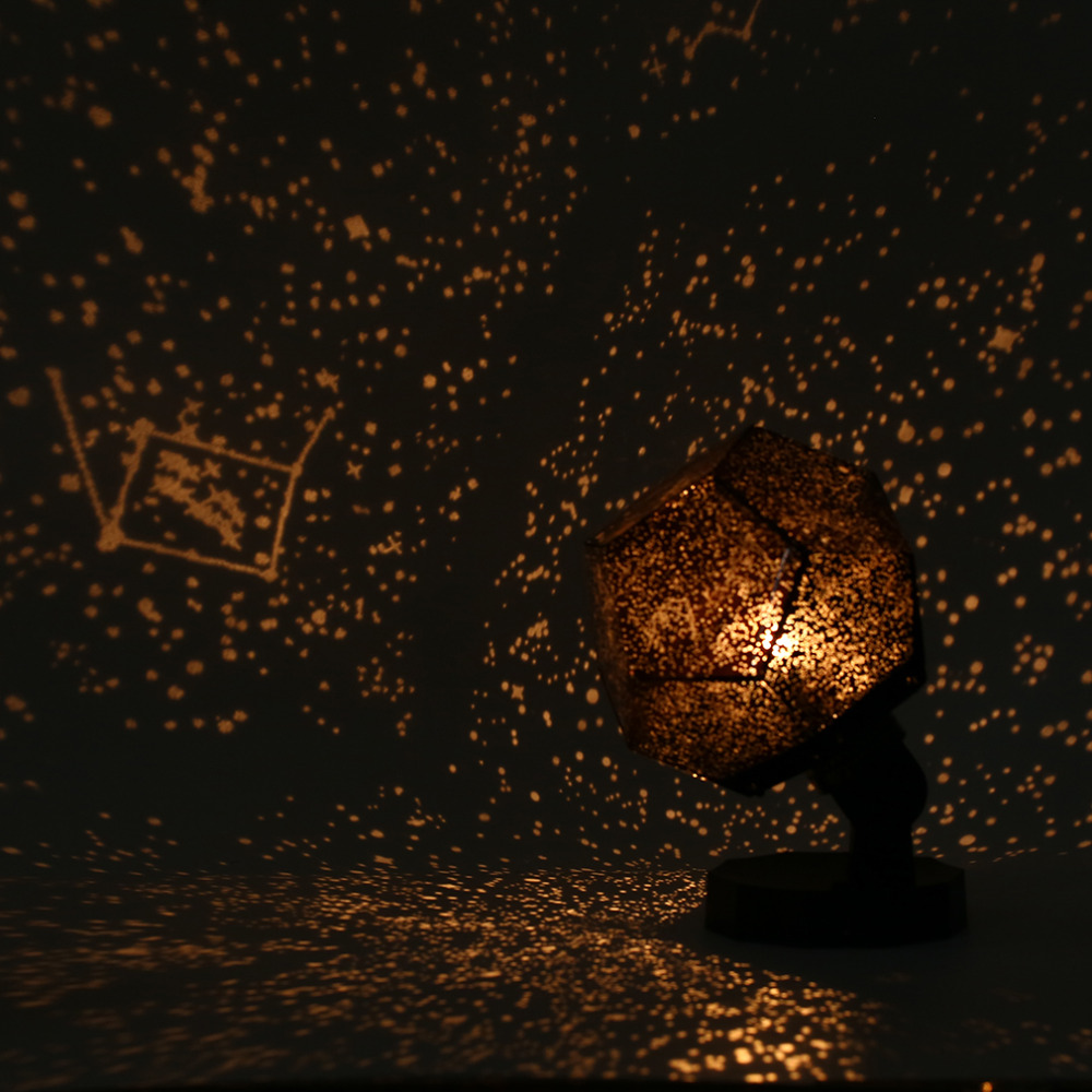 ICOCO New Order 8 Celestial Star Astro Sky Cosmos Moon Night Light Projector Lamp Starry Romantic Bedroom Home Decor 20180219 led projector lamp colorful star master sky starry moon night light cosmos master for children gift led projection lamp