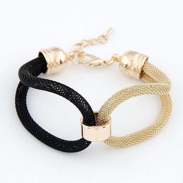 2016  fashion personality plant sales preparation of new European exaggerated metal concise temperament Bracelet factory price