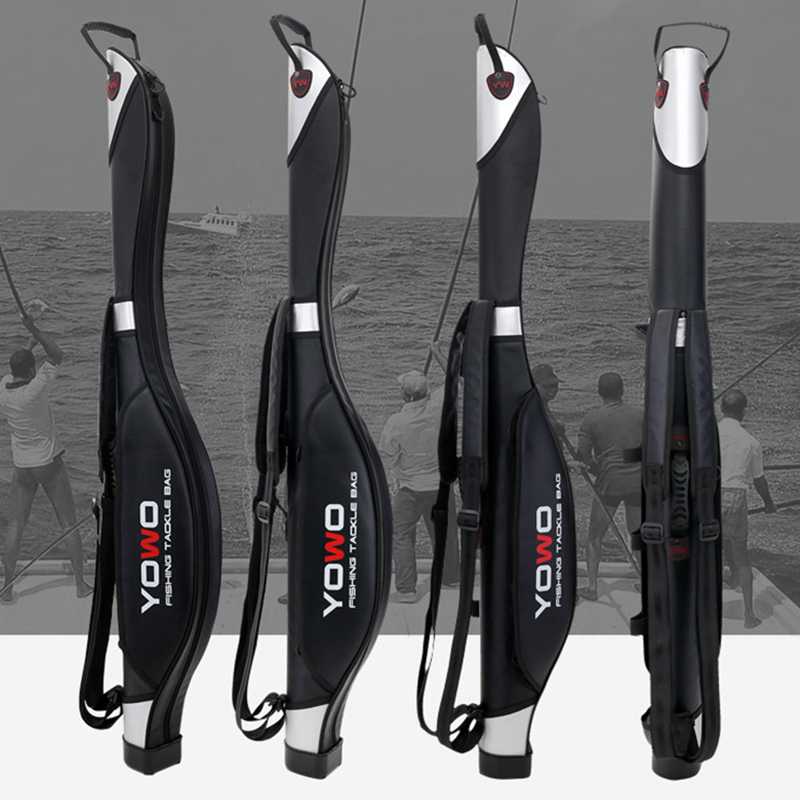 Scione Fishing Bags 120CM Foldable Multi purpose Fishing Bag Fishing Rod Bags Zipped Fishing Tackle Bags