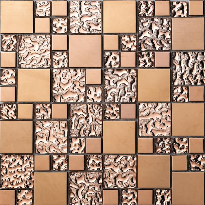 metal wall tiles for kitchen stainless steel metal mosaic glass tile kitchen backsplash 9156