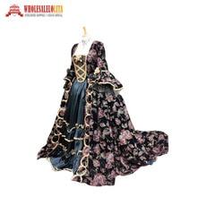 Викторианский рококо Готический Марии Антуанетта стиль платье на заказ