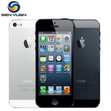 """Apple iPhone 5 разблокированный мобильный телефон iOS двухъядерный 4,"""" 8MP камера wifi gps б/у телефон"""