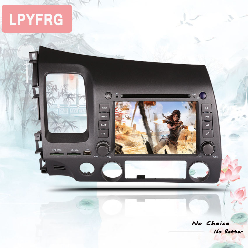 4 64GB Android 9 0 CAR DVD FOR HONDA CIVIC 2006 2011 car audio gps player