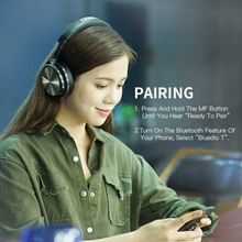 headphones portable bluetooth headset with microphone