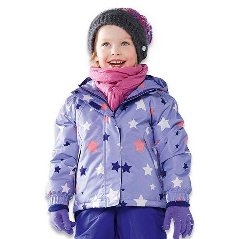 Livraison gratuite veste de ski pour enfants hiver vêtements d'extérieur pour enfants vestes de ski coupe-vent combinaison de neige chaude pour garçons filles